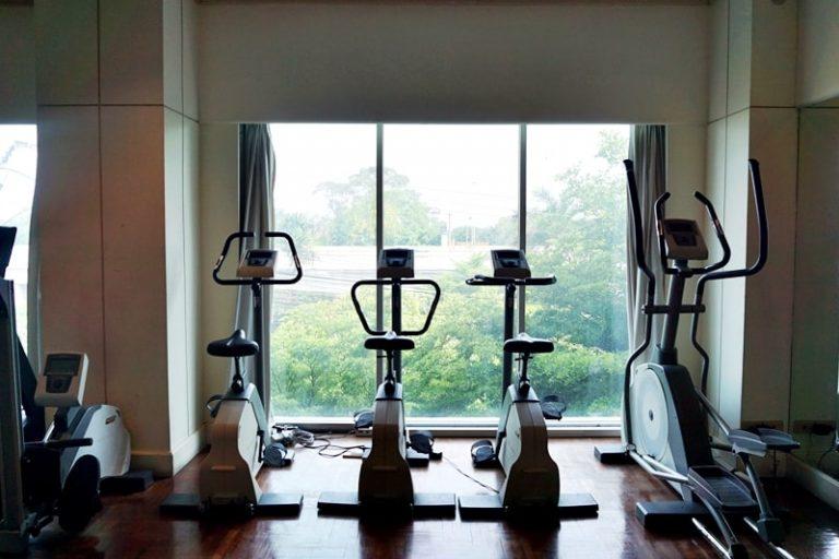 Krungsri River Hotel : Fitness center